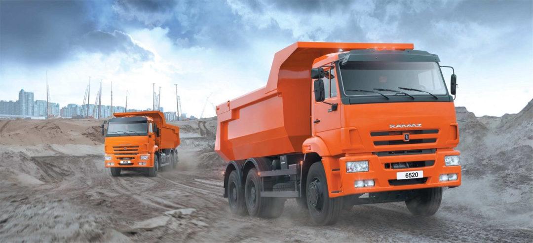 landing page для продажи грузовых автомобилей kamaz