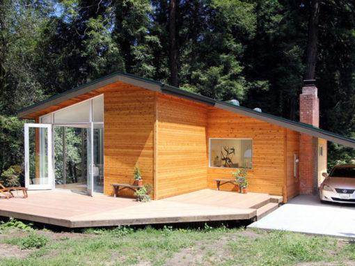 Лендинг по теме Строительство домов, бань