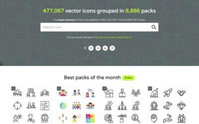 Где найти векторные и бесплатные иконки на сайт?